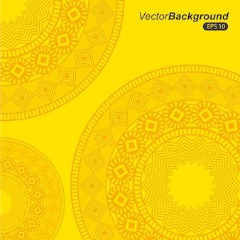 Design de áfrica sobre ilustração vetorial de fundo amarelo