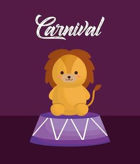 Design de animais de circo