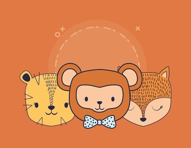 Design de animais fofos