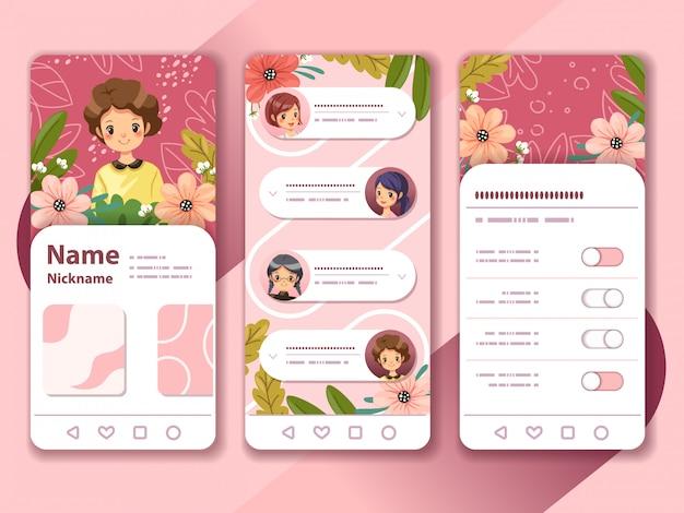 Design de aplicativo para dispositivos móveis