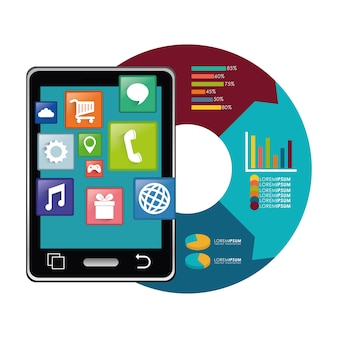 Design de aplicativos móveis tablet