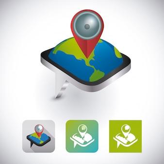 Design de aplicativos móveis.