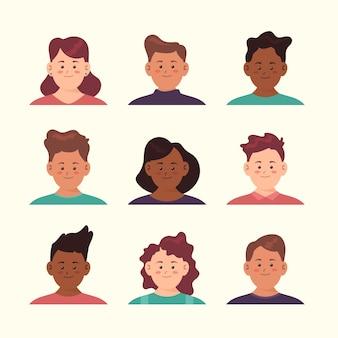 Design de avatar para jovens