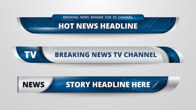 Design de banner de notícias
