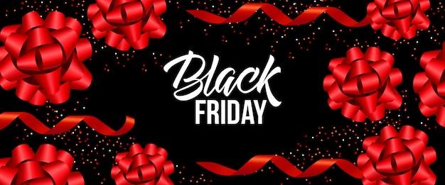 Design de banner de sexta-feira negra