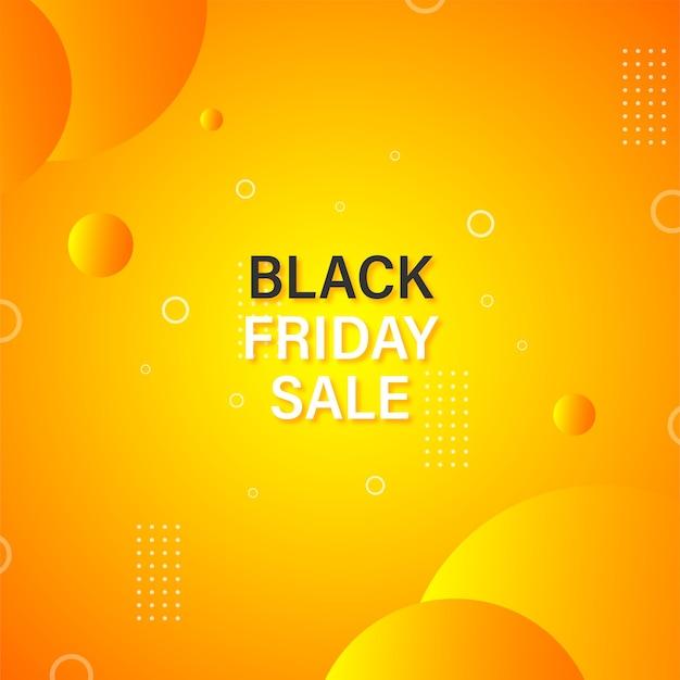 Design de banner elegante de venda de sexta-feira negra