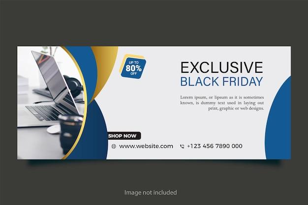 Design de banner horizontal de negócios de marketing