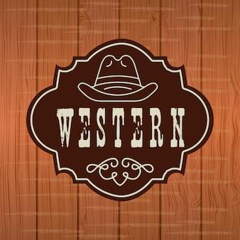 Design de banner ocidental