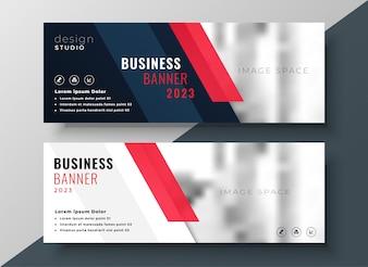 Design de banner profissional de negócios corporativos