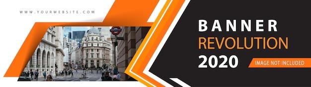 Design de banner web corporativa