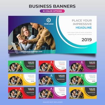 Design de banner web negócios 06