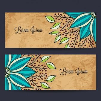 Design de banners mandala
