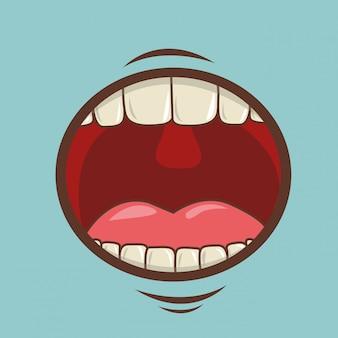 Design de boca