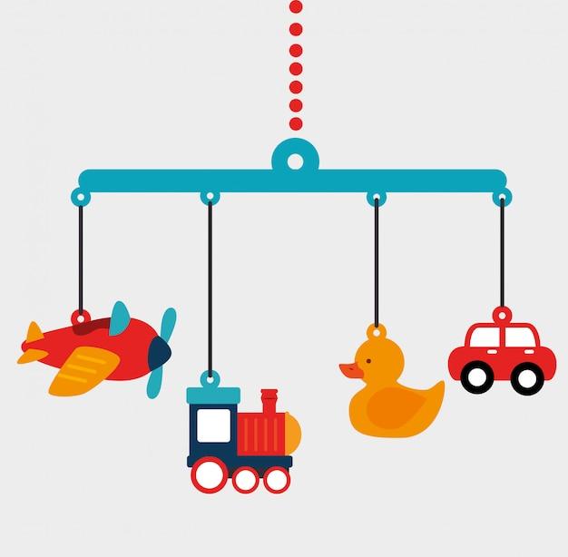 Design de brinquedos do bebê