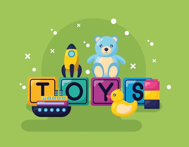 Design de brinquedos para crianças