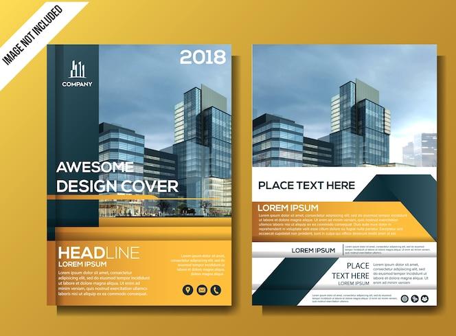 Design de brochura comercial de panfleto profissional