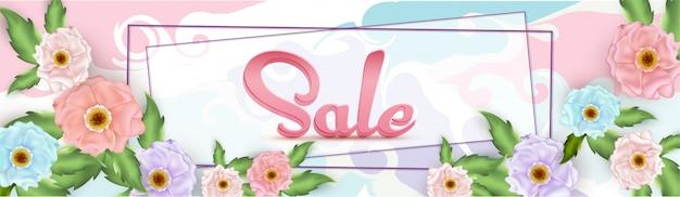 Design de cabeçalho ou banner de venda