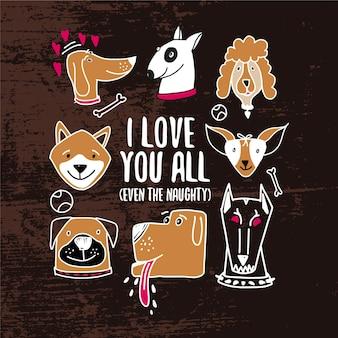 Design de cachorro