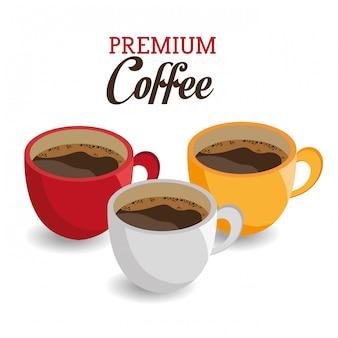 Design de café.