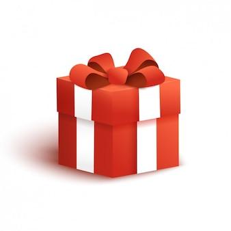 Design de caixa de presente