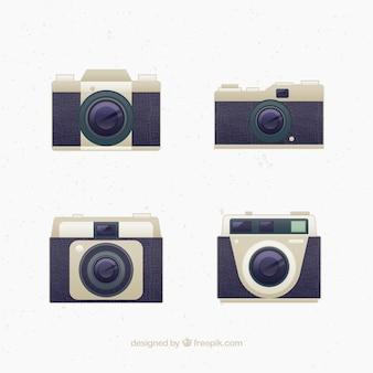 Design de câmeras do vintage