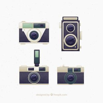 Design de câmeras retros