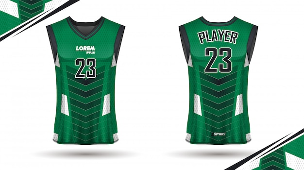 Design de camisa de basquete criativo