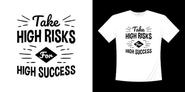 Design de camisa de tipografia t de letras motivacionais. estilo de escrita à mão de letras.