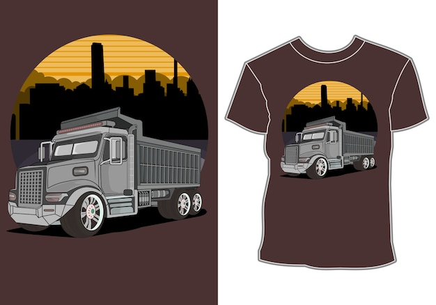 Design de camiseta de corrida de carro esporte moderno