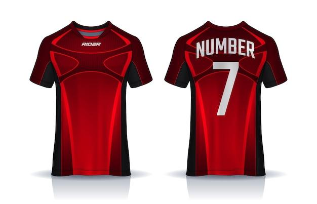 Design de camiseta de futebol