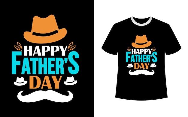 Design de camiseta feliz para o dia dos pais