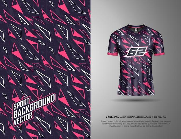 Design de camisetas esportivas para corrida, camisa, ciclismo, futebol, jogos