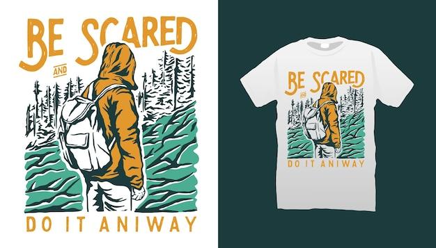 Design de camisetas sereia fique em casa