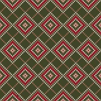 Design de camisola de lã de tricô.