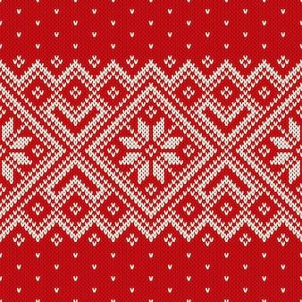 Design de camisola de natal. padrão sem emenda