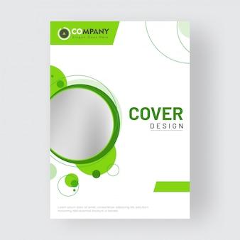 Design de capa de negócios promocionais