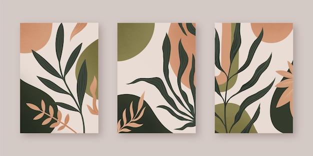 Design de capas abstratas