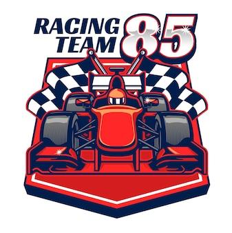 Design de carro de corrida de fórmula