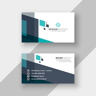 Design de cartão abstrato moderno