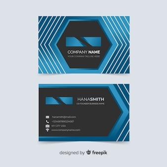 Design de cartão abstrato