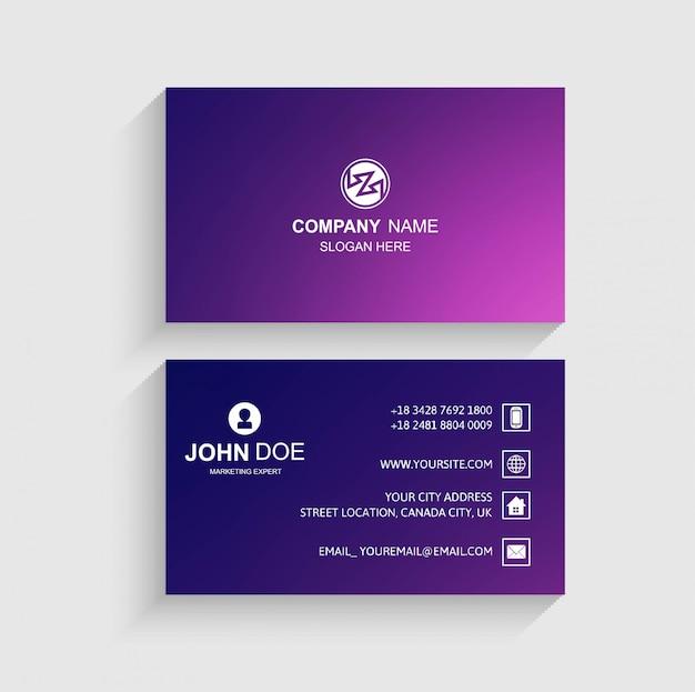 Design de cartão colorido abstrato