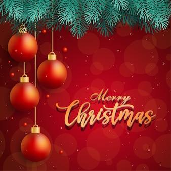 Design de cartão com ícones de feliz natal