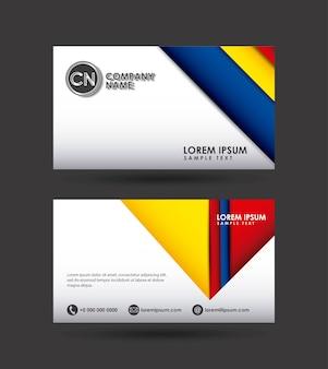 Design de cartão de apresentação