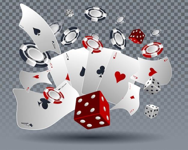 Design de cartão de casino