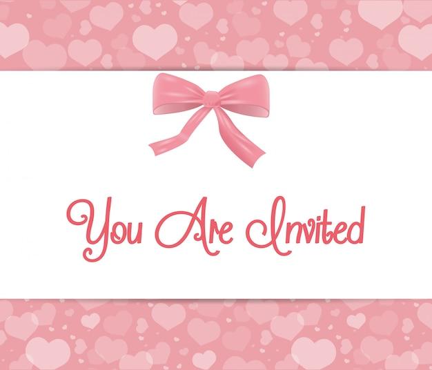 Design de cartão de convite