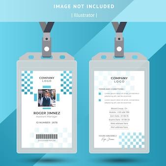 Design de cartão de identificação