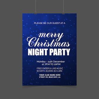 Design de cartão de natal com design elegante e vetor de fundo criativo
