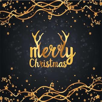 Design de cartão de natal