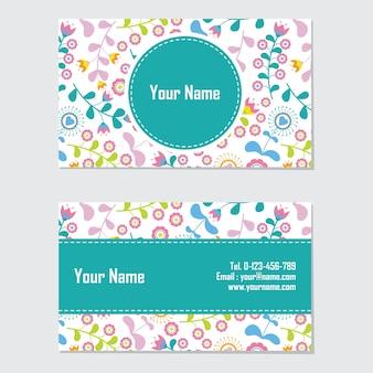 Design de cartão de nome