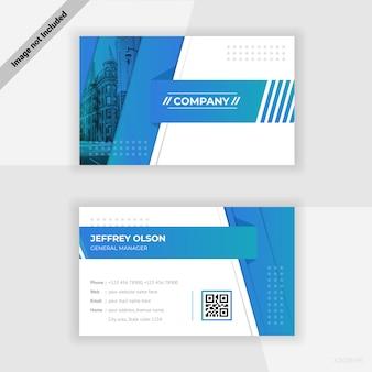 Design de cartão de visita da empresa